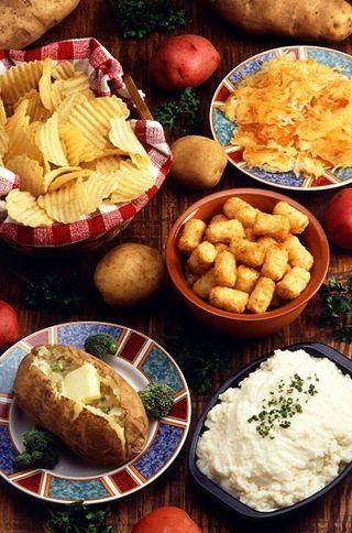 Potatoes Prepared