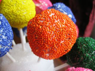 Cake Pops Orange