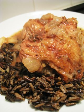 Paul Prudhommes Onion Gingered Chicken