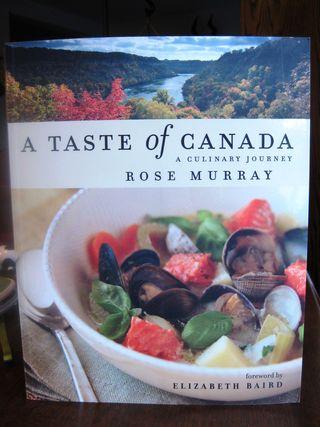 Taste of Canada Cookbook
