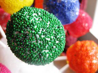 Cake Pops Green