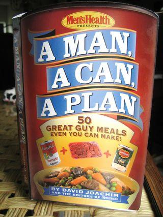 A Man, A Can, A Plan Cookbook