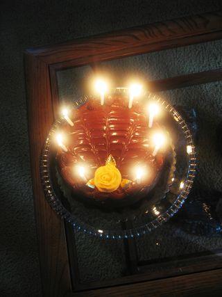 2010_Blog Aniversary Cake