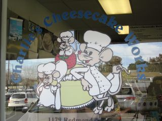 Charlies Cheesecake Works_Signage