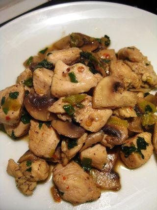 Spicy Chicken & Mushrooms_1