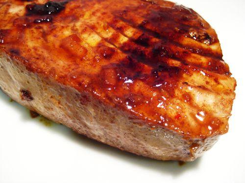 Tuna with Five-Spice Soy Glaze