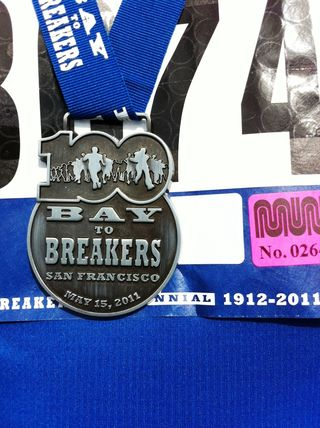 Bay to Breakers Medal