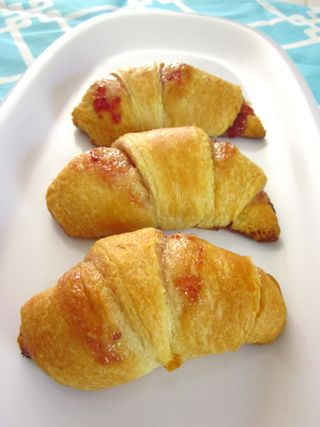 Strawberry Crescent Rolls