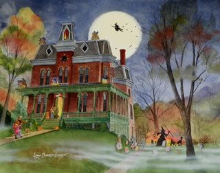 Have your house drawn haunted