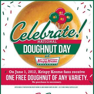 Krispy Kreme Donut Day