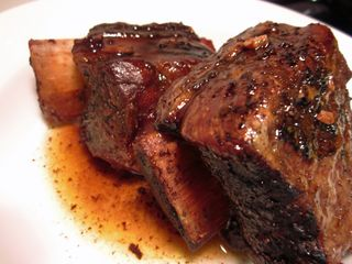 Balsamic Glazed Short Ribs