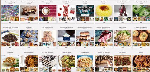 Pinterest Screen Shot Boards 04122012