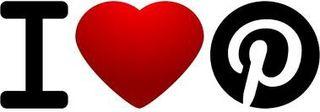 I heart pin