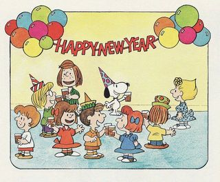 2013_Happy New Year Peanuts Gang