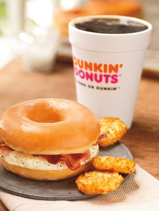 Duncan Donuts Bacon