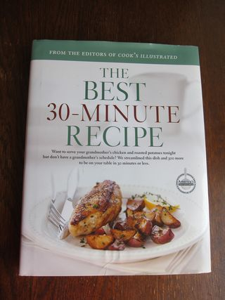 Cooks Illustrated 30-Minute Cookbook