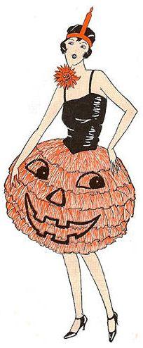 Sign - Day 25 - Pumpkin Dress