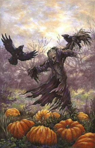 Sign - Countdown 14 - Tree with Crows