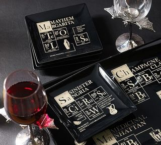 Periodic Cocktail Plates