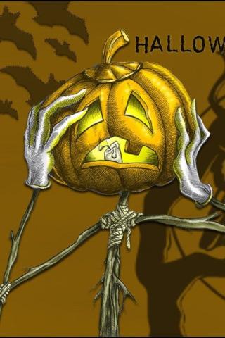 Sign - Countdown 15 - Pumpkin Headache