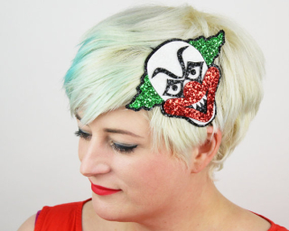 Headband clown