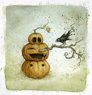 Sign - Countdown 19 - Pumpkin Tree Nose