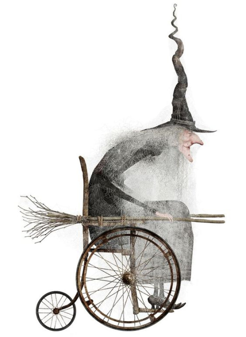 15-witch wheelchair little slow today