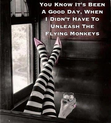 21-Witch didn' release flying monkeys