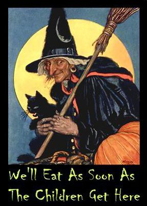 7-Witch Eat as soon as the children are here