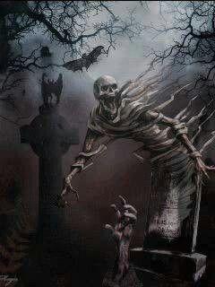 10-Skeleton Bending Over