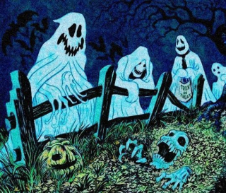 25-Where Ghosts go to Trick or Treet