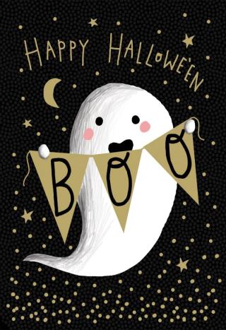 31 - Happy Halloween Boo