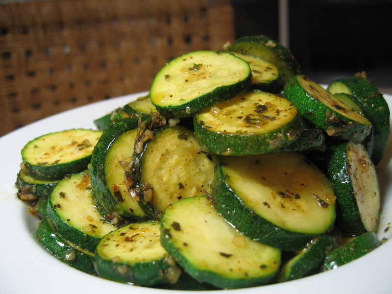 Zesty Zucchini Saute - Pages, Pucks and Pantry
